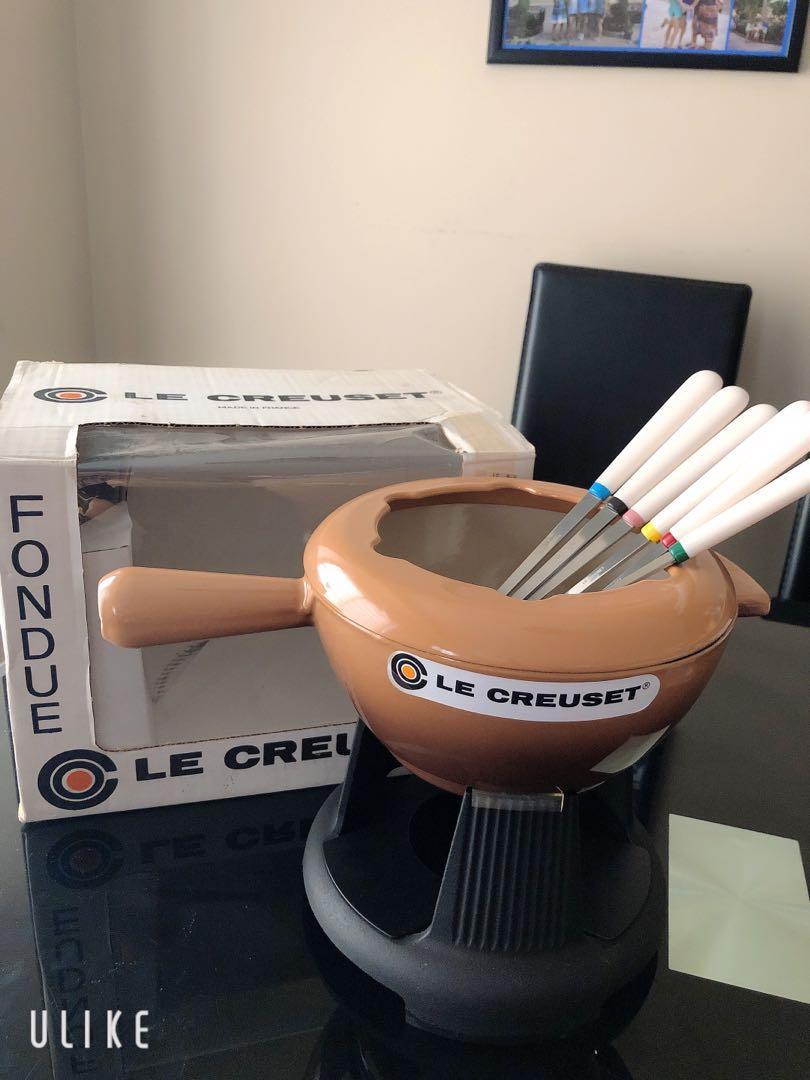 Le Creuset Cast iron Fondue Set (20cm) France