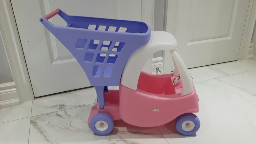 LITTLE TYKES-Kids Shopping Cart-LIKE NEW