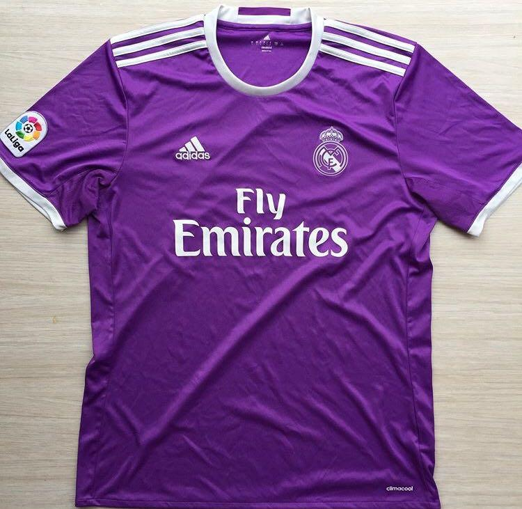 Real Madrid authentic jersey 16/17 away size L measurement 74x52cm