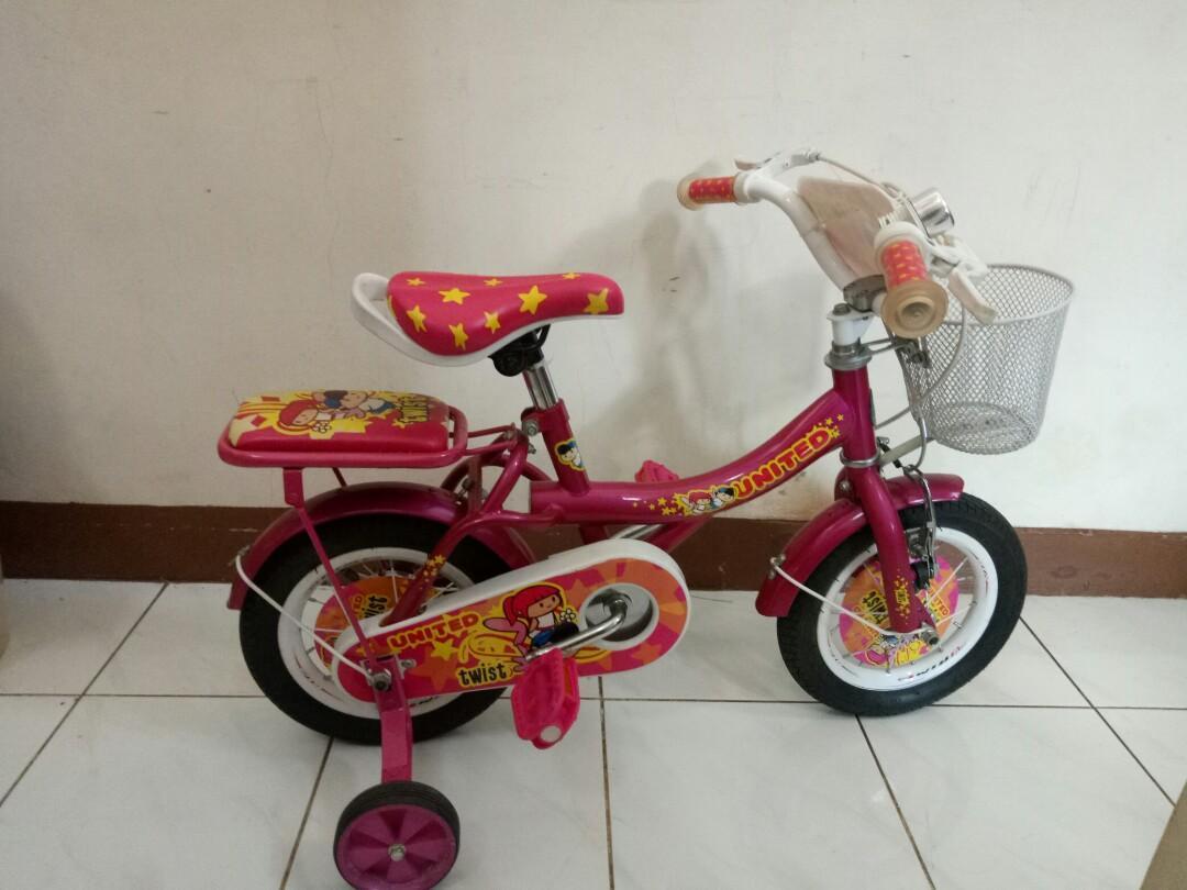 Sepeda anak united twist 12