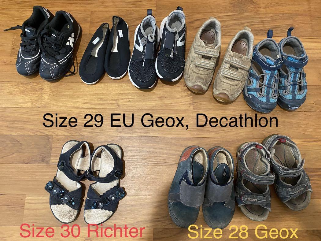 cruzar Egomanía Unión  Shoes 28-29 EU, Babies & Kids, Boys' Apparel, 1 to 3 Years on Carousell
