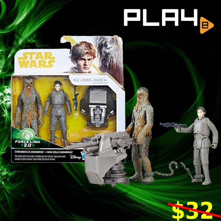 Solo Force Link 2.0 Figure Han Mimban MISB New Sealed Excellent