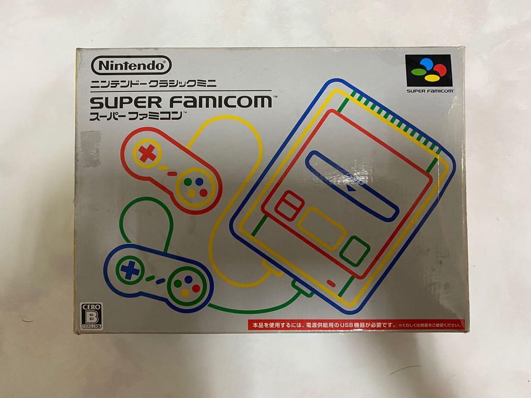 Super famicom 復刻版 接HDMI的 21款遊戲