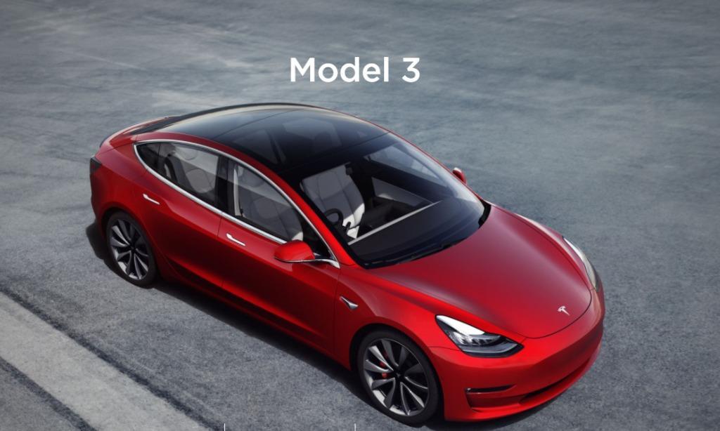 Tesla MODEL3 Auto