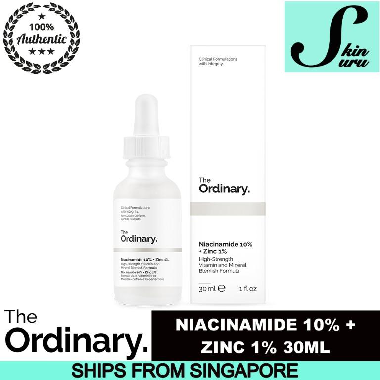 The Ordinary Niacinamide 10 Zinc 1 30ml 60ml Health Beauty Face Skin Care On Carousell