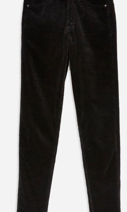 Topshop Corduroy Jamie Jeans 30-inches - New w tag