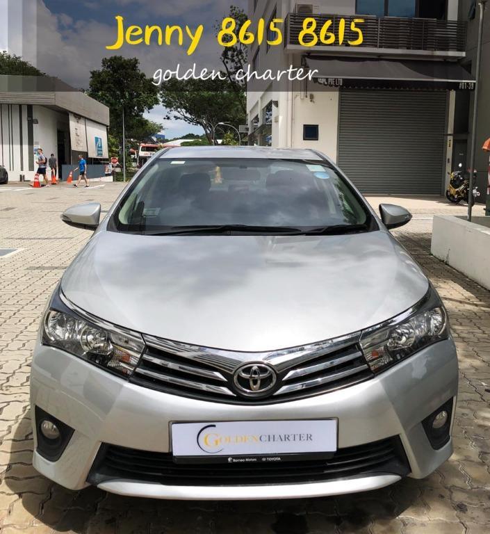 Toyota Altis Classic 1.6a PHV personal use grab gojek