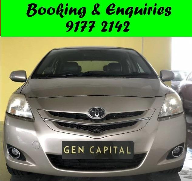Toyota Vios. 29/08 .Promotion price for 1st month while stock last.Cheap Car Rental. $500 deposit only. Whatsapp 9177 2142 to reserve. LAST UNIT
