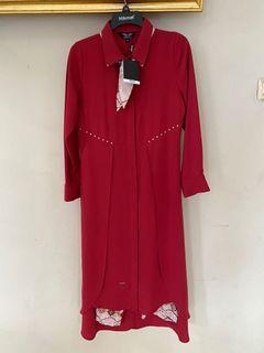 Set gamis Baju Muslim (Tunik + Celana) Hikmat