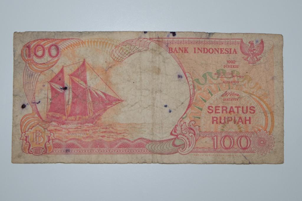 Uang kuno rupiah 100