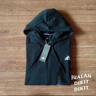 Zipper hoodie adidas 3-stripes 100% original