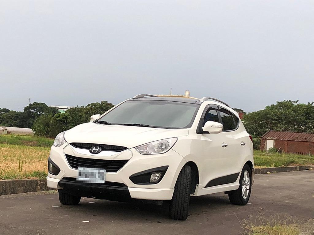 2011年 IX35 白色 頂級 4WD 車況優