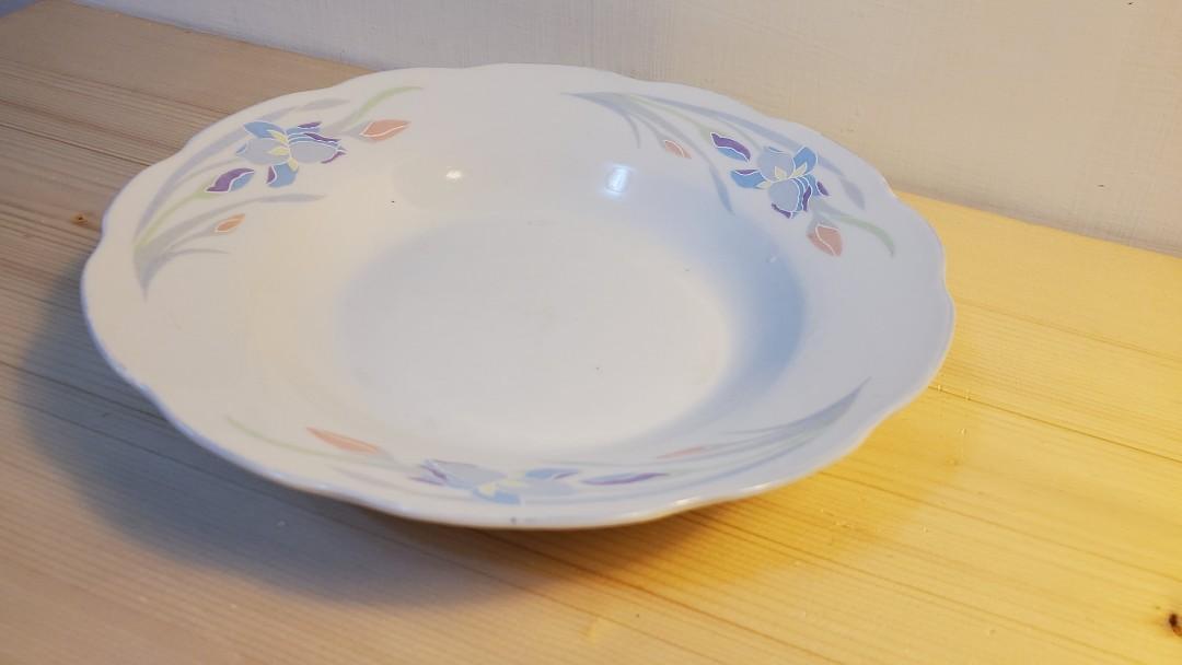 【免費 Free】花形狀盤子 餐盤