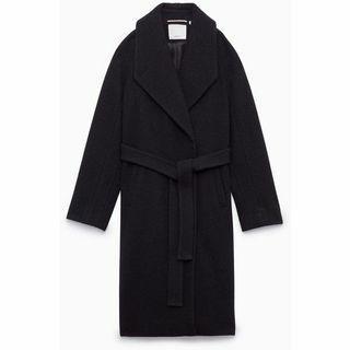 Aritzia Wilfred Meline Coat - Black - S