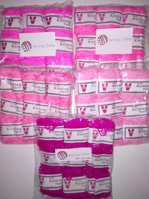 Benang Wool pack isi 9