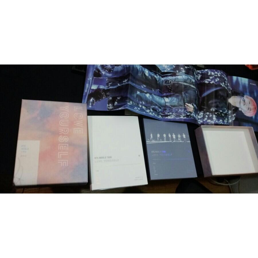 BTS 防彈少年團 'LOVE YOURSELF' SEOUL 演唱會 DVD (無小卡 -下標前請先閱讀商品內文-