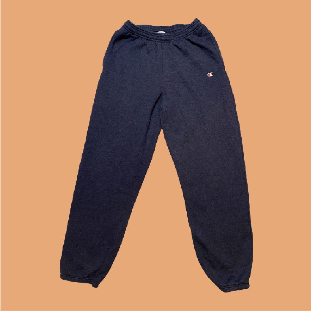 Champion ECO Authentic Sweatpants | Navy | Size M