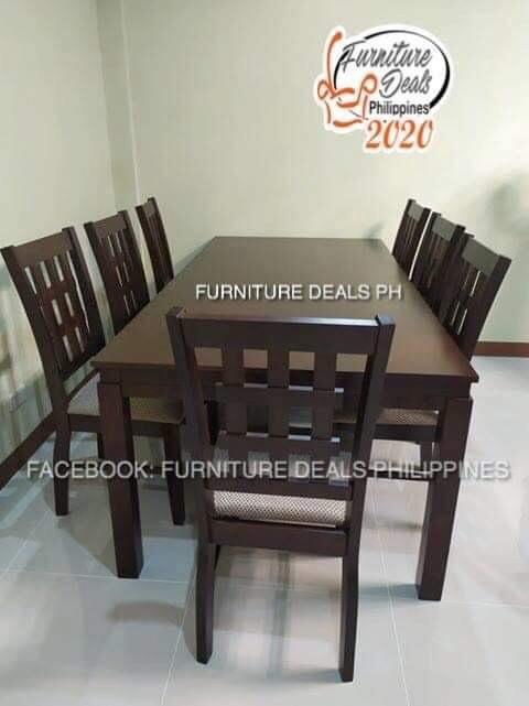 Dining Table 8 Seater Malaysian Wood Home Furniture Furniture Fixtures Tables Chairs On Carousell