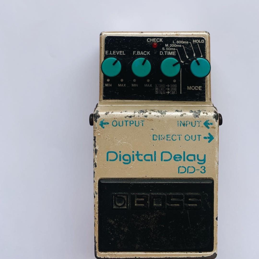 Efek gitar delay boss dd3 digital delay