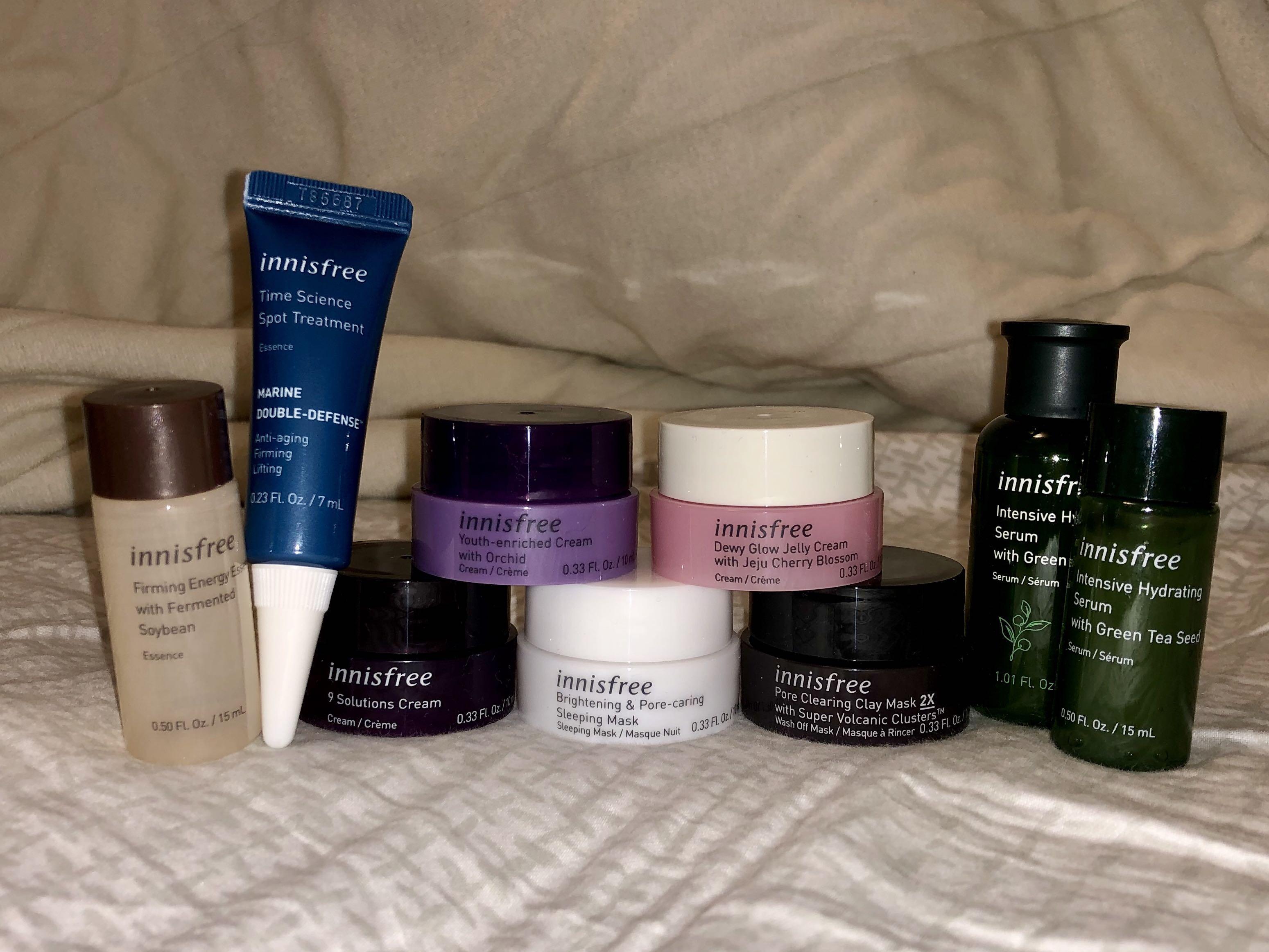 Innisfree skincare (all of them)