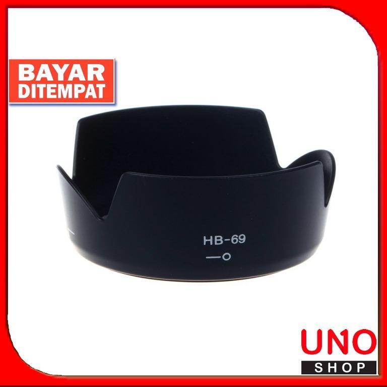 Lenshood HB-69 For Nikon Kit 18-55mm VR II D3200/D3300/D5200/D5300