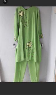 Like new 1 Set Baju muslim/gamis Turun Harga