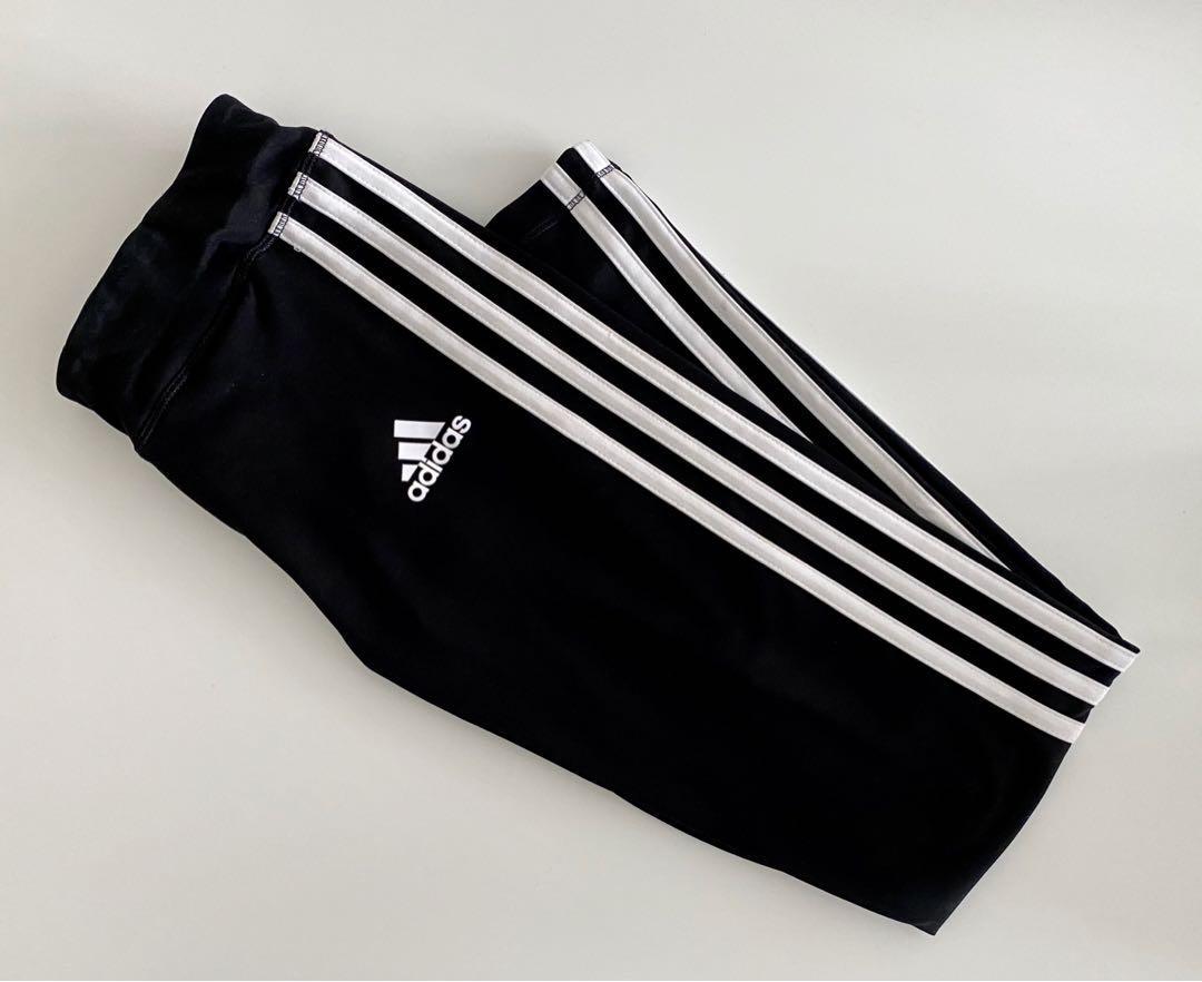 ~new~ adidas 3 stripe leggings