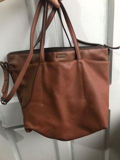 Mango Brown Handbag (has sling)