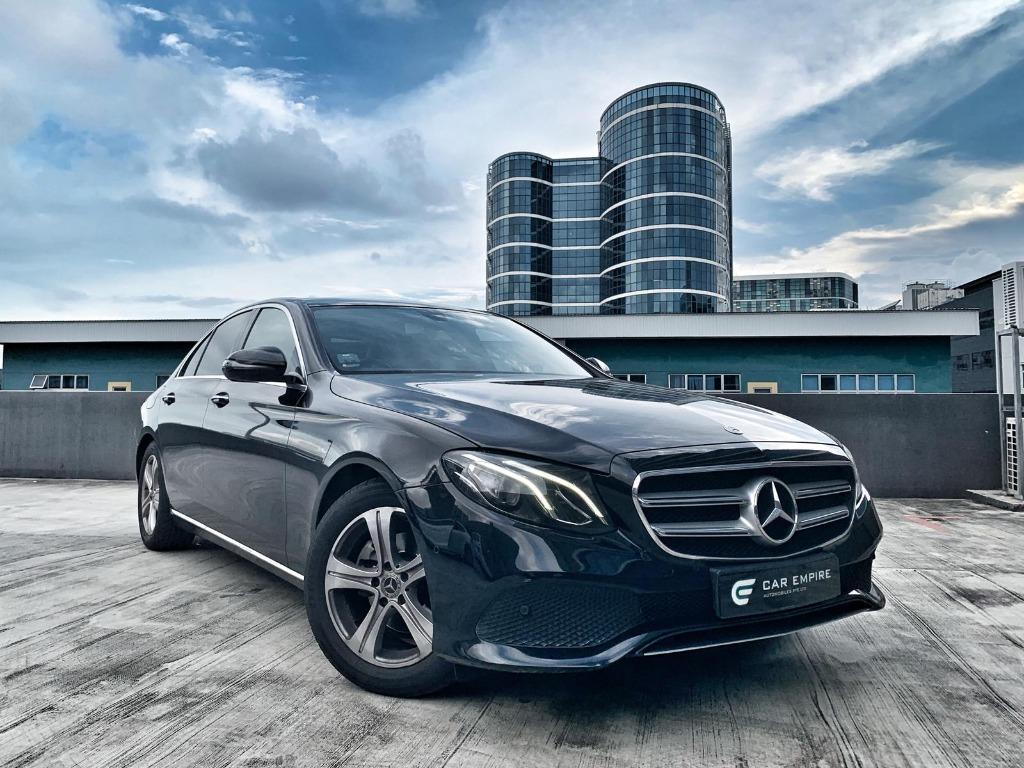Mercedes-Benz E220d AMG Line (A)