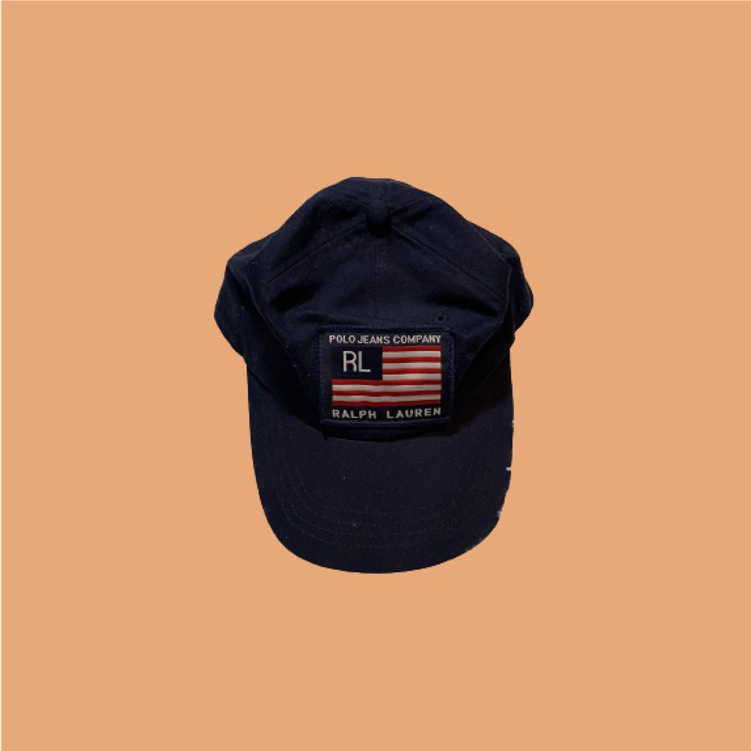 Polo Ralph Lauren Jeans Company Baseball Hat | Navy | Size OS