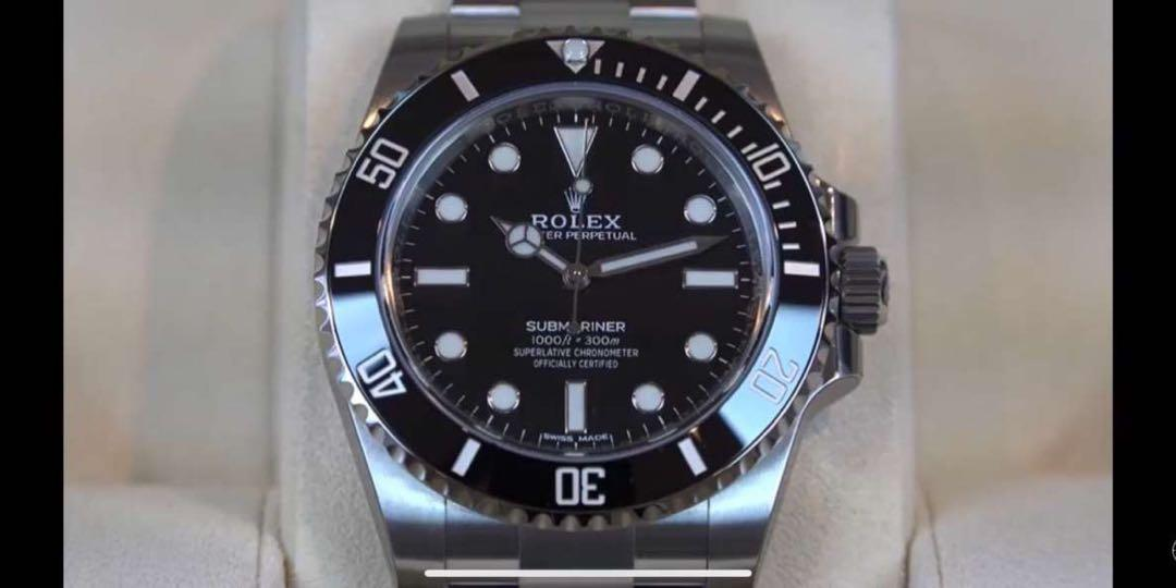 Rolex black datejust