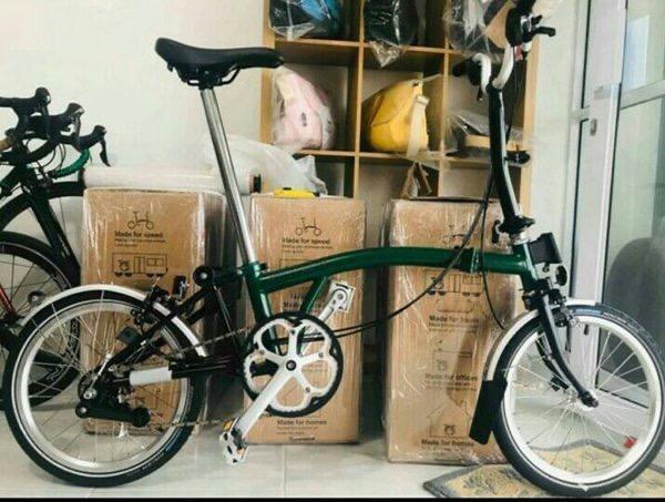 Sepeda Lipat Brompton M6L 2020 Racing Green BNIB