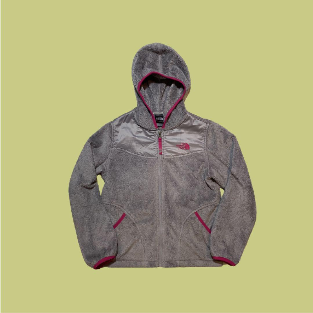 The North Face Fleece Zip-Up Sweater | Grey | Size M