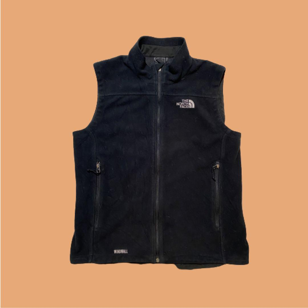 The North Face Windwall Fleece Vest | Black | Size M