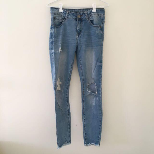 """""""The Ripped Skinny"""" Jeans"""