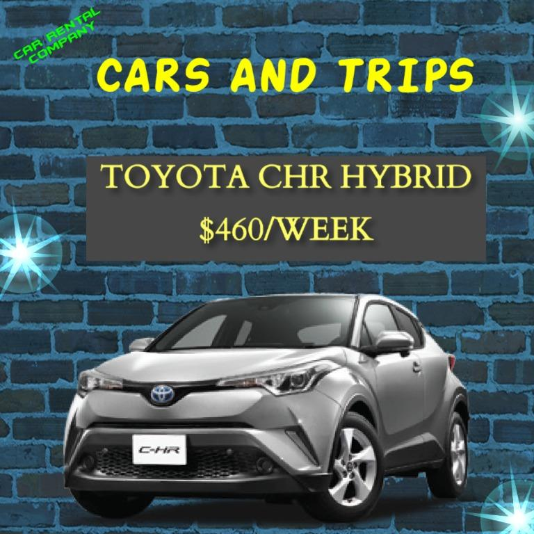 Toyota CHR Hybrid Good Condition !!!