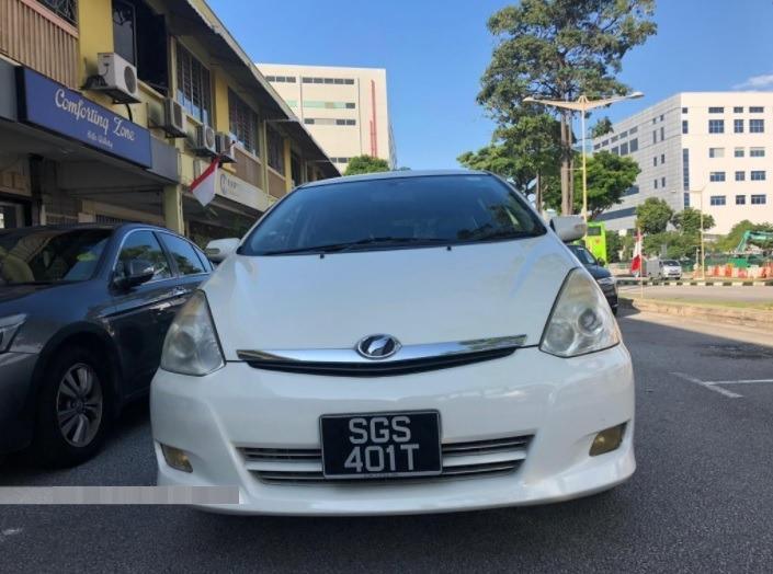 $300/Week, Toyota Wish, Cheap 7 seater mpv car rental