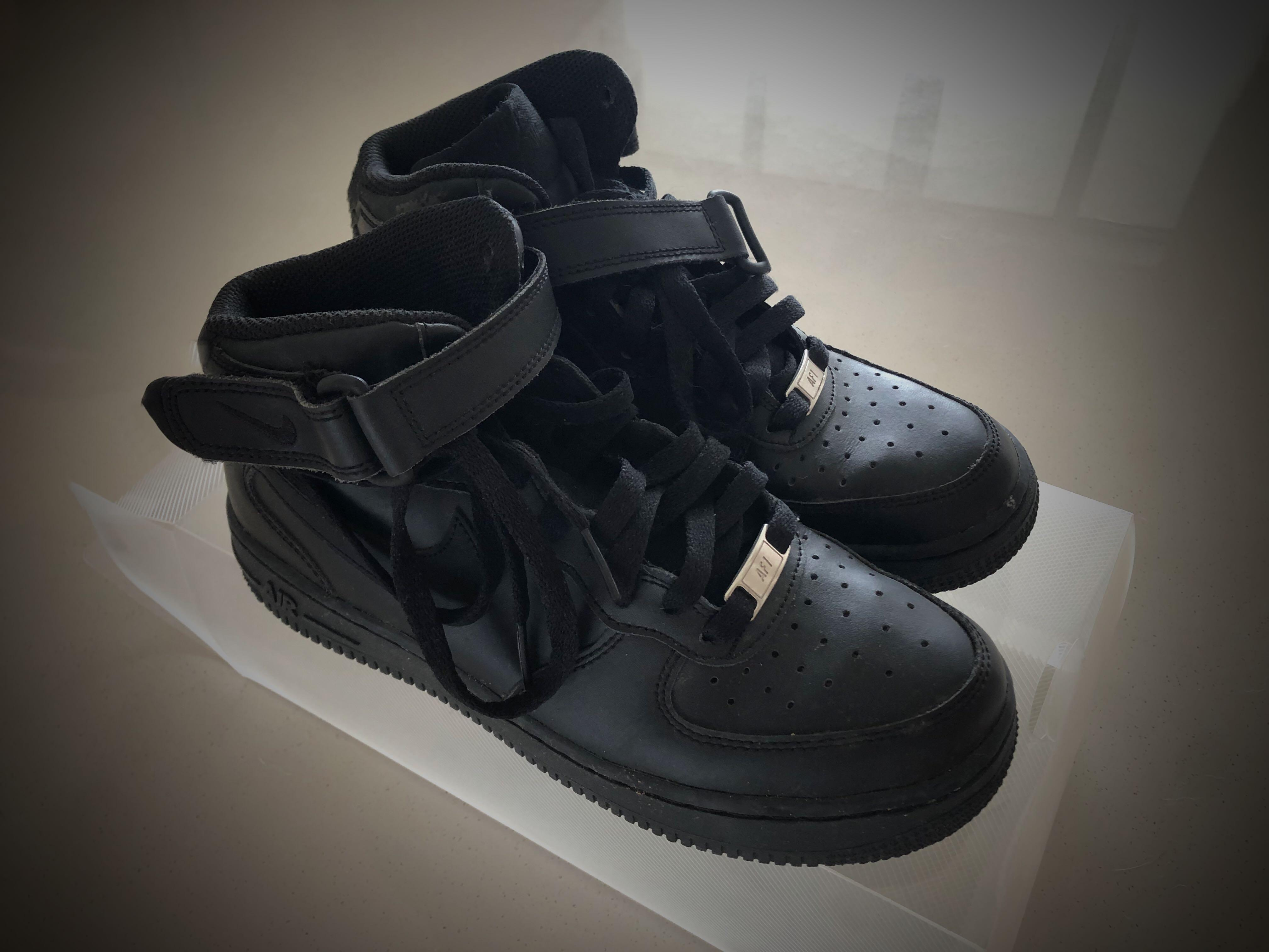 Nike Air Force 1 Velcro ankle strap