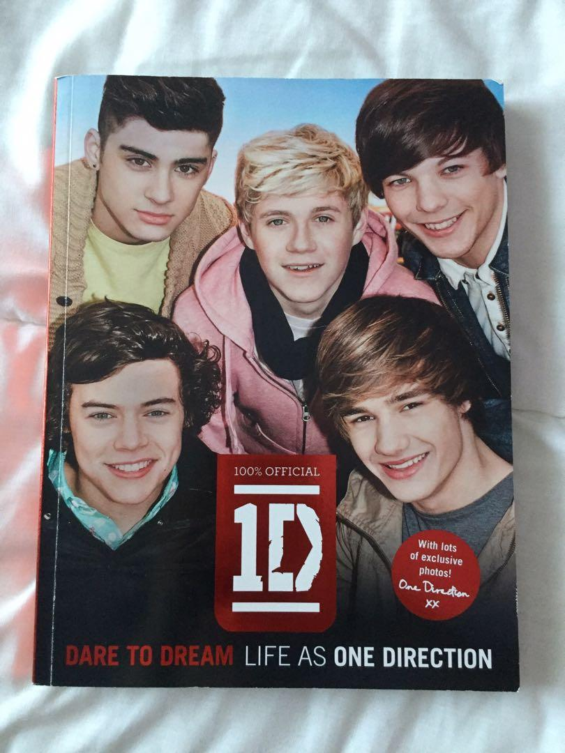 1D Official Photobook + Biography