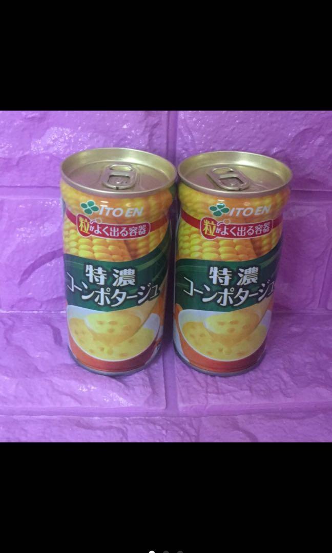 ⭐️日本製🌽玉米濃湯罐⭐️