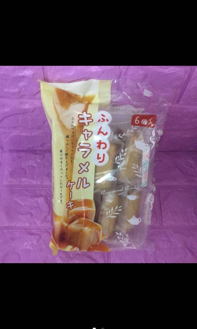 日本製津具屋焦糖蛋糕