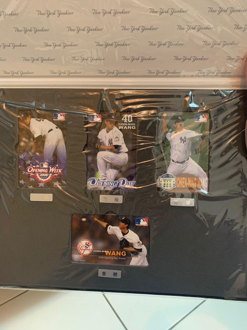 王建民先發紀念悠遊卡 2008 全新 極具收藏價值