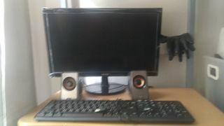 螢幕 鍵盤連喇叭