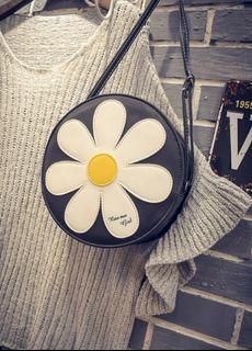 全新可愛太陽花圖單肩包.手提包.側背包 .百搭款MCP1451-206#HB8