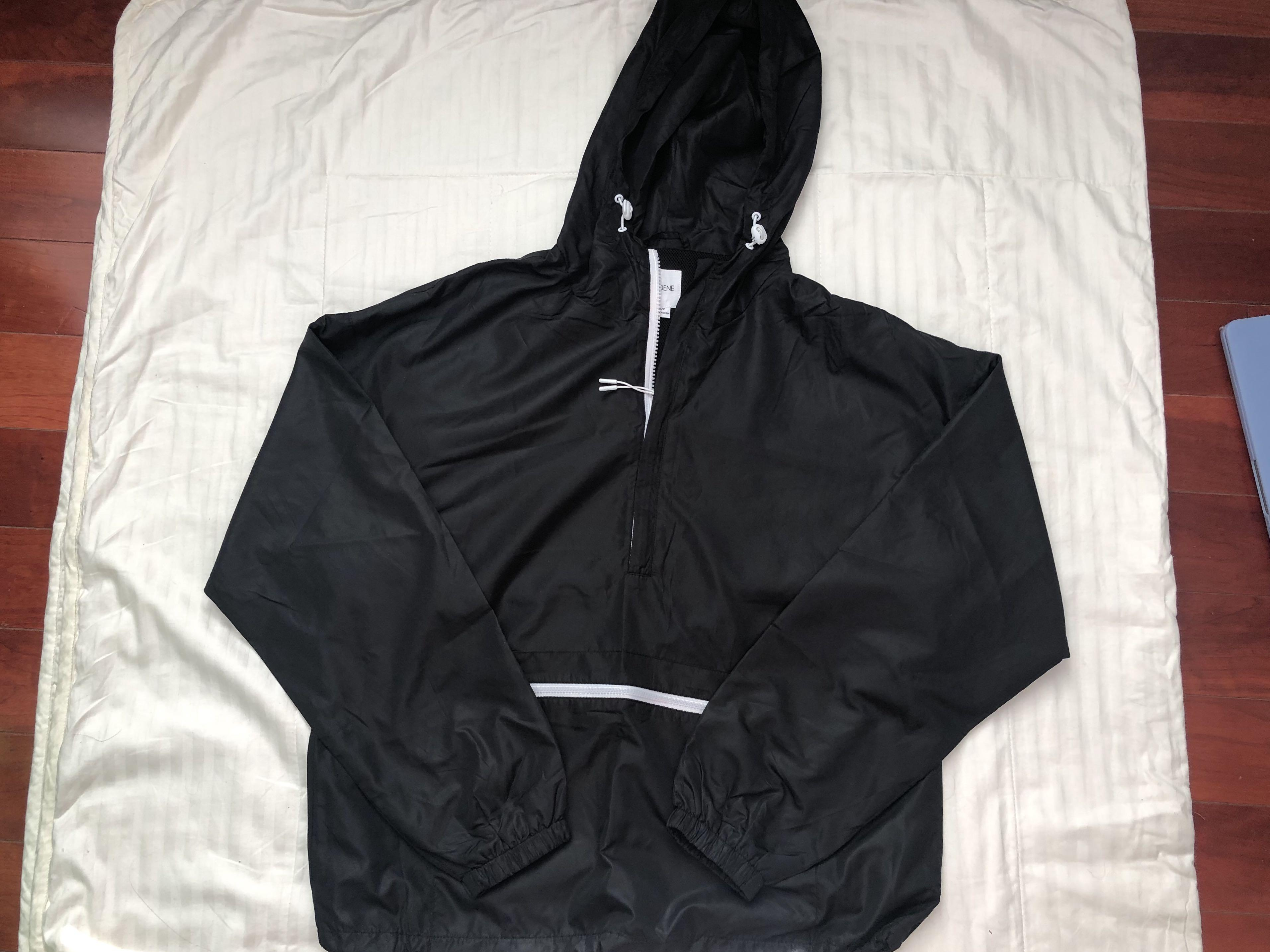 Ardene Black Windbreaker