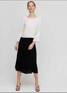 Aritzia Pleated Skirt XS