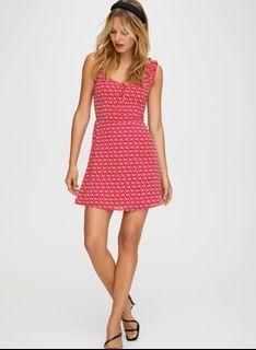 Aritzia Sunday Best Flirt Ruffle Dress