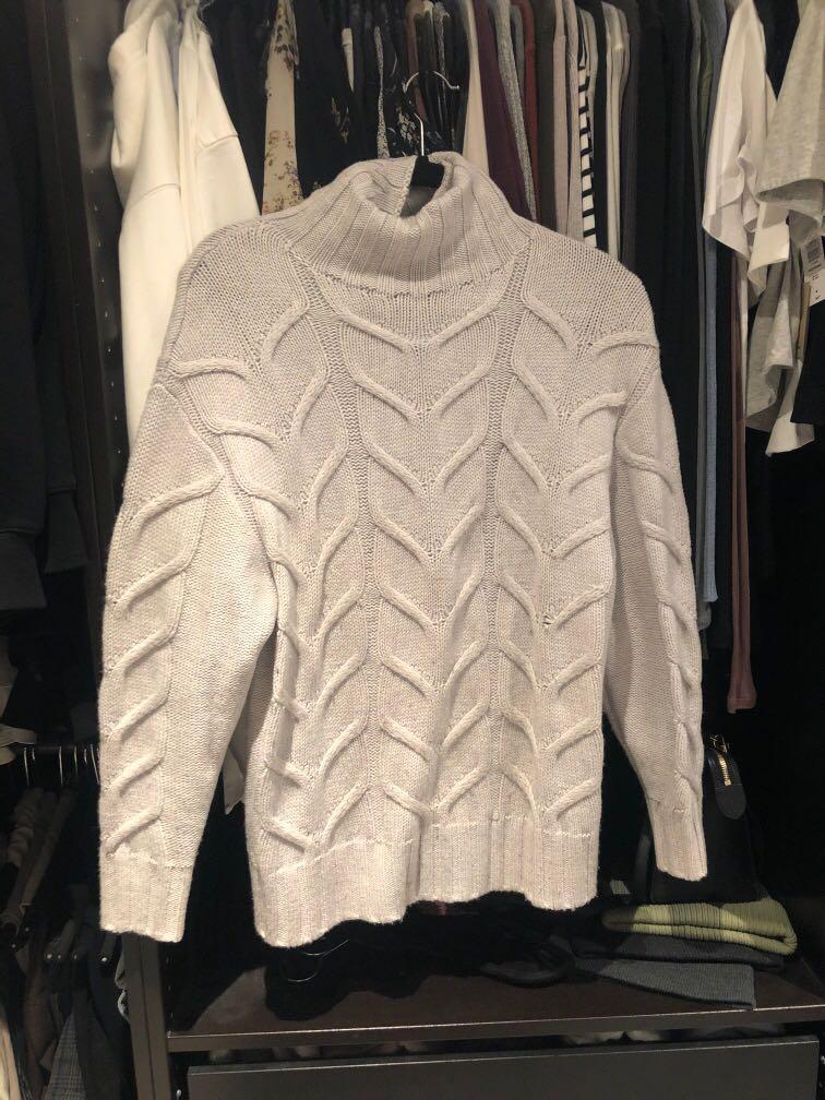 Aritzia Wilfred champeaux knit turtleneck sweater