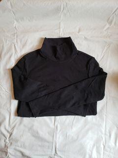 Black Uniqlo Turtleneck