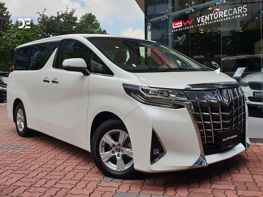 [BRAND NEW] TOYOTA ALPHARD (LONG TERM RENTAL)